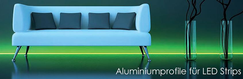 profile f r led strips led leuchten styled. Black Bedroom Furniture Sets. Home Design Ideas