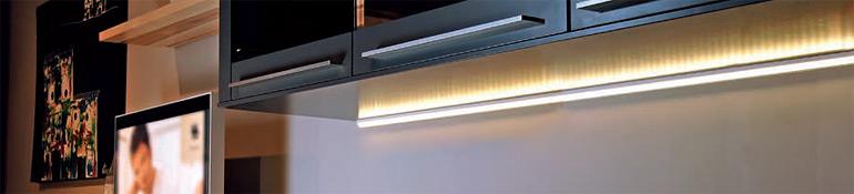 led streifen systeme led leuchten shop led streifen. Black Bedroom Furniture Sets. Home Design Ideas