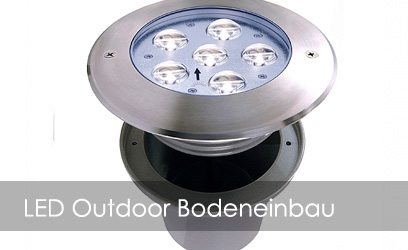 LED Outdoor Bodeneinbau