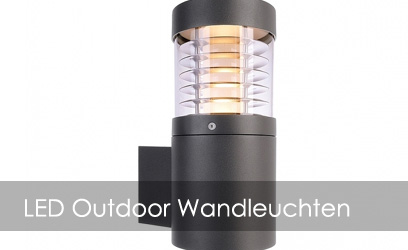 LED Outdoor Wandleuchten