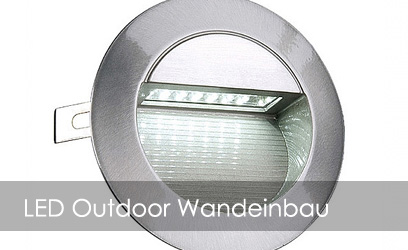 LED Outdoor Wandeinbau