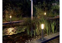 led gartenleuchten led leuchten styled. Black Bedroom Furniture Sets. Home Design Ideas