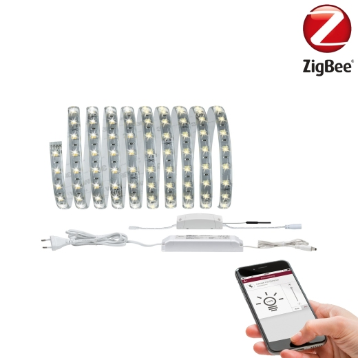 SmartHome Zigbee LED-Strip Set Reflex 3m Tunable White beschichtet Paulmann