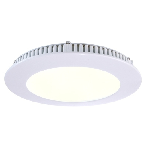 Kapego LED Panel 8W, weiß, warmweiß, 2700K
