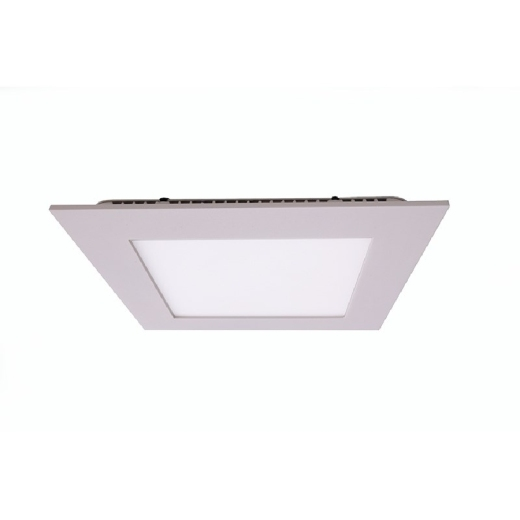 Kapego LED Panel Square 15W, weiß , neutralweiß, 4000K
