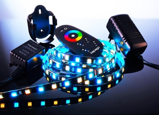LED Mixit Set, 5050, SMD, RGB + Warmweiß, 220-240V AC/50-60Hz, 2,5m