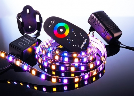 LED Mixit Set, 5050, SMD, RGB + Warmweiß, 220-240V AC/50-60Hz, 4m