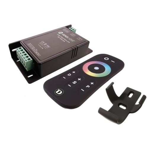 Controller, RF Color Remote, 12-24V DC, 15A, 360W, IP20