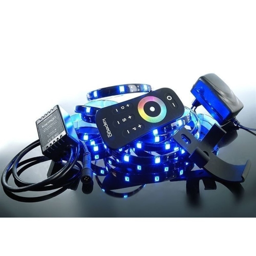 LED Strip MIXIT SET, RF 5050-75-RGB-2,5m-Silikon, 19W, 390lm, IP20